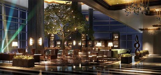 A Fairmont Austin Hotel a történelmi Palm Park közelében. A kép a Fairmont Austin tulajdona.