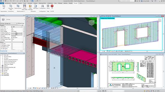 Structural Precast extension for Revit